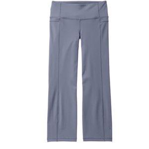 ATHLETA Straight Up Capri Pants Granite Gray {O18}